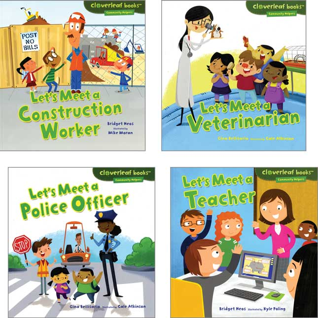 Cloverleaf Books™: Community Helpers 8-Book Set