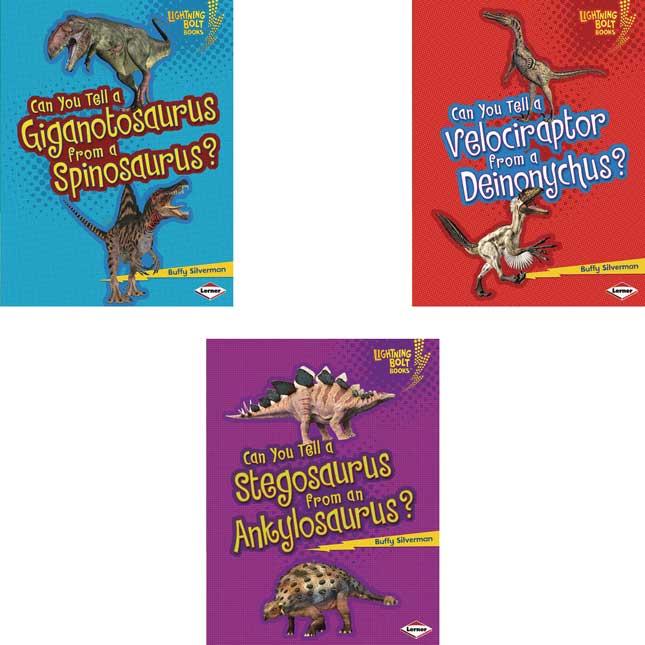 Dinosaur Look-Alikes 6-Book Set