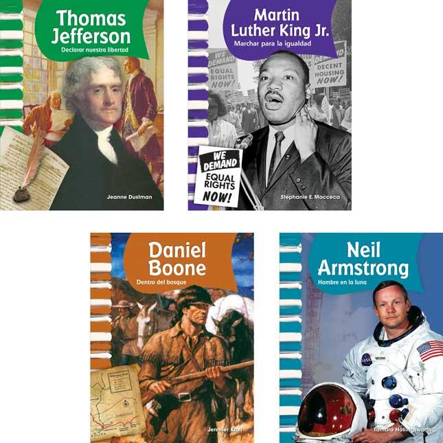 American Biographies: Men - Spanish - 9-Book Set