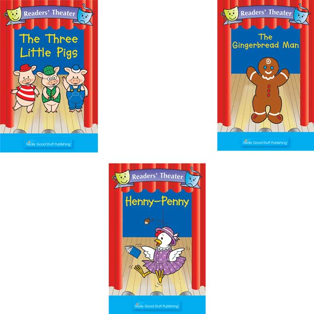Readers' Theater FolkTales Student and Big Book Package - Set 2