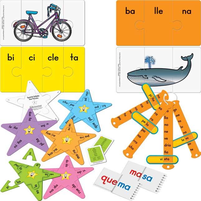Spanish Syllable Kit