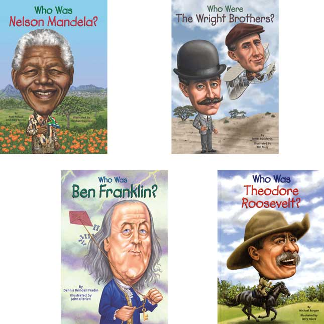 Who Was/Is. . . Biographies - 12-Book Set