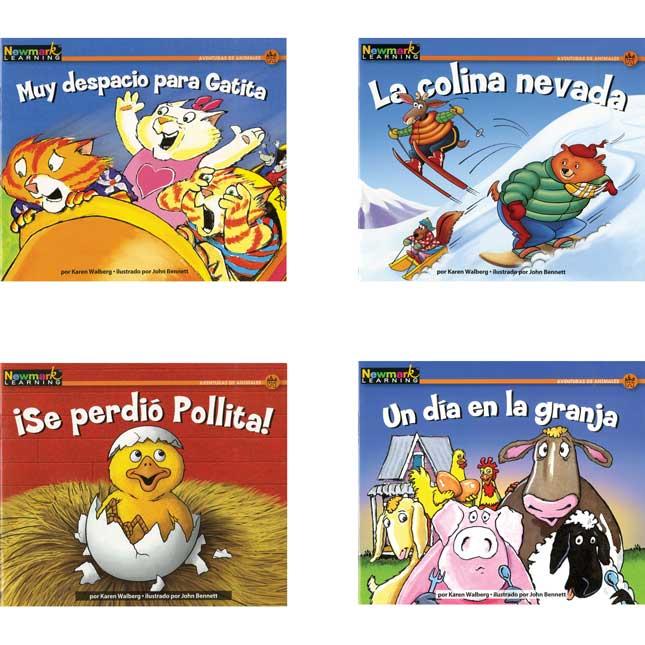 Rising Readers Fiction: Animal Adventures - Spanish