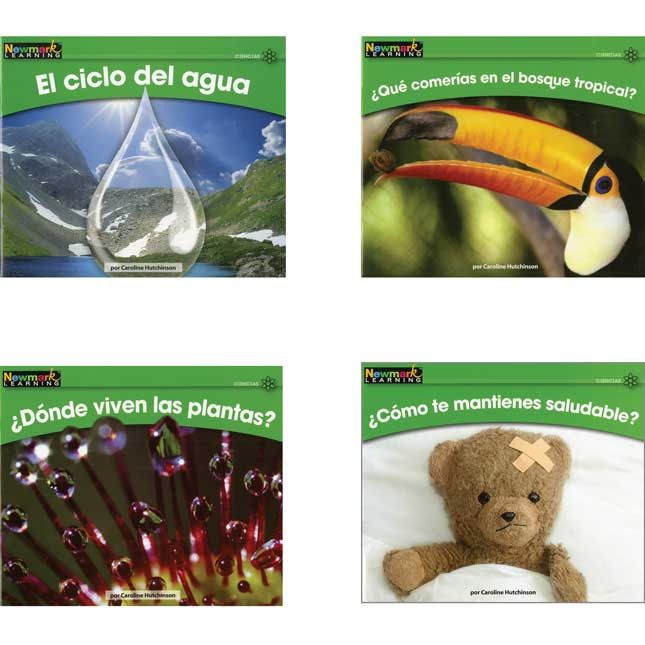 Rising Readers Spanish - Science Book Set - Vol. 2