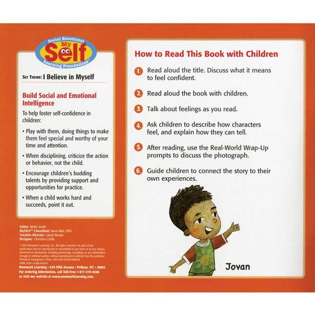 MySelf: I Believe In Myself - 6-Book Set