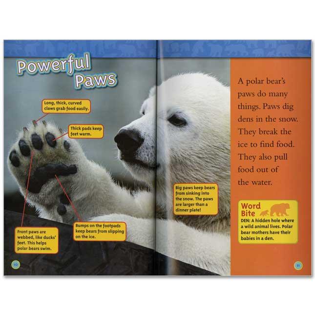 National Geographic Kids Readers Level 1 Set 1 - 10-Book Set