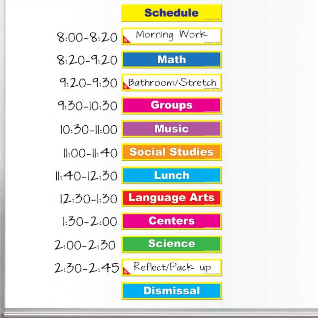 Class Schedule Magnets
