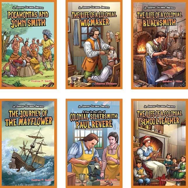 Early U.S. History Genre Bin Kit - Grades 2-3