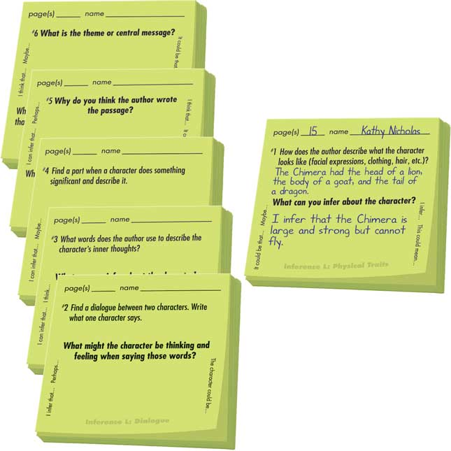 Common Core Study Stickies™ Inference Set