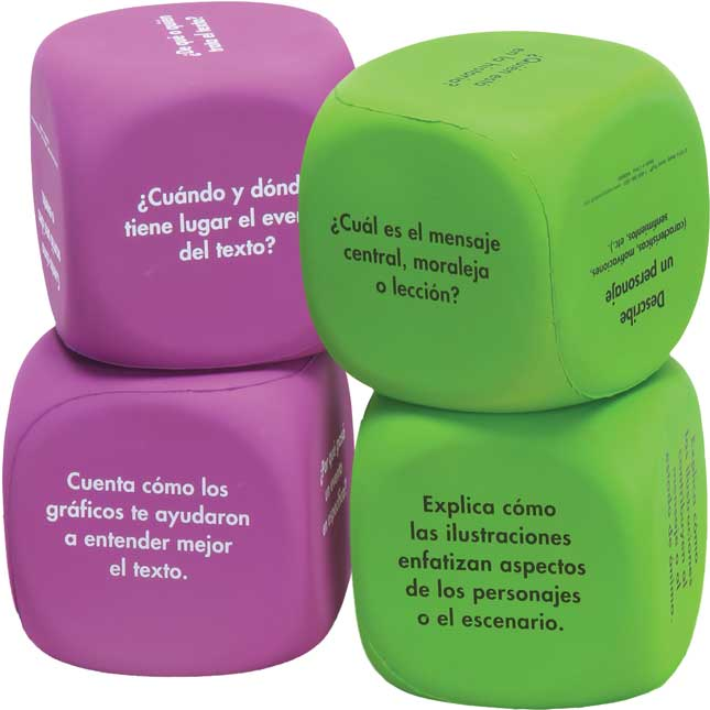 Cubos de comprensión (Common Core Comprehension Cubes)