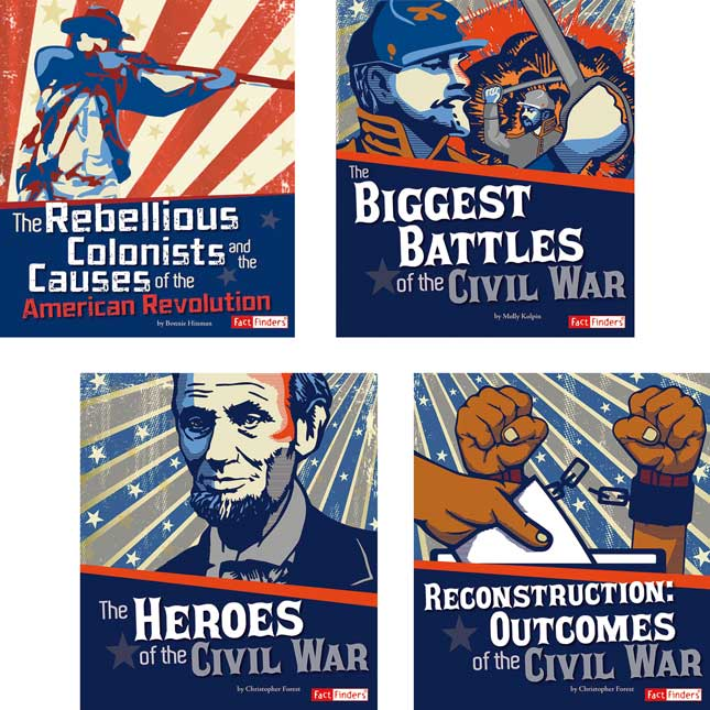 U.S. History Genre Bin Kit - Grades 4-5