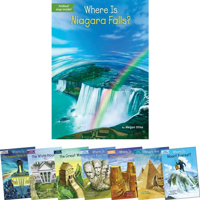 Where Was...?/Where Is...? - 8-Book Set