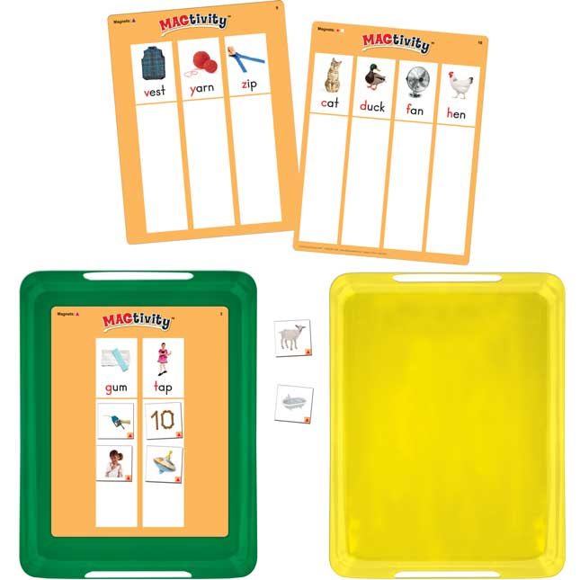 Really Good MAGtivity Tins™ Beginning Sounds Picture Sorting Kit
