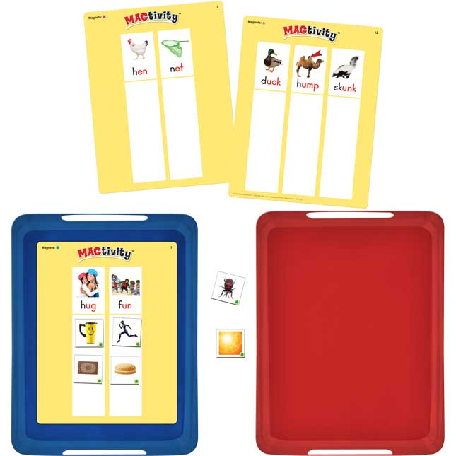 Really Good MAGtivity Tins™ Short Vowel Word Families Picture Sorting Kit