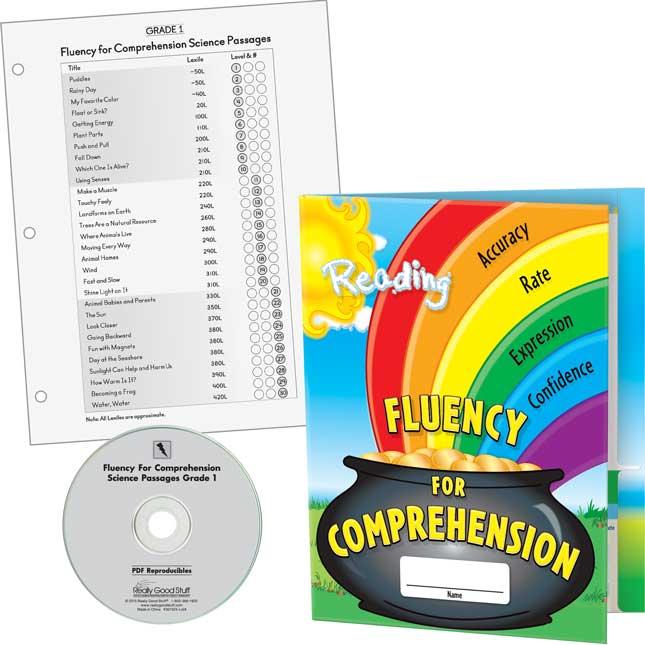 Fluency For Comprehension Science Passages Kit - Grade 1