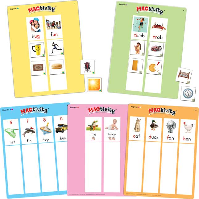 Phonics MAGtivity™ Card Set