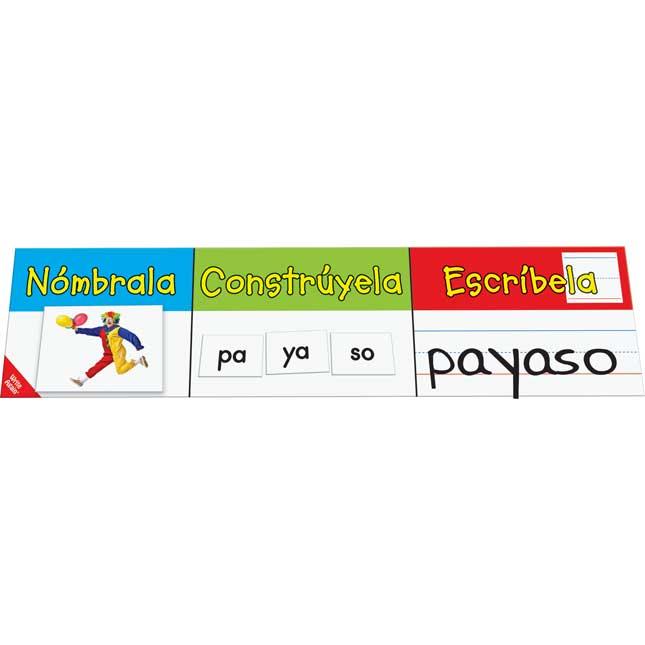 Formar Palabras Con Silabas (Make-A-Word Center™: Spanish Syllables)