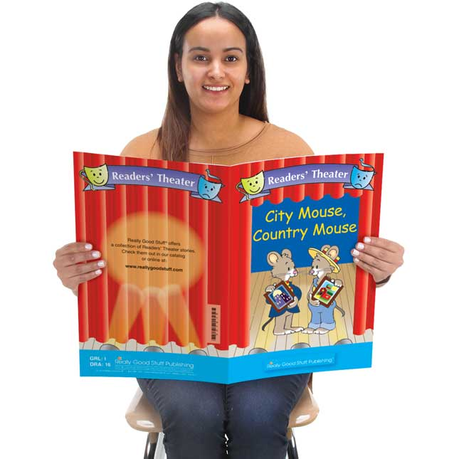 Really Good Readers' Theater - City Mouse, Country Mouse Big Book