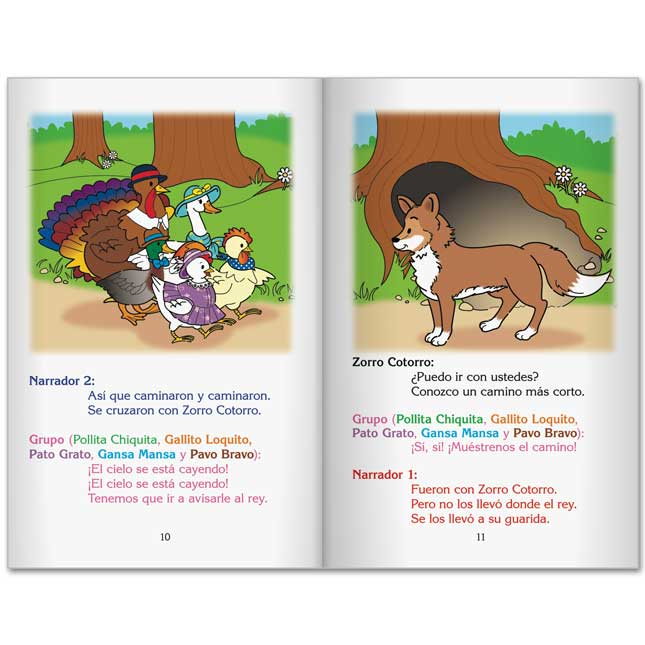 Really Good Spanish Readers' Theater: Henny-Penny (Teatro Del Lector: Pollita Chiquita)