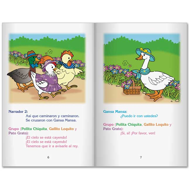Spanish Readers' Theater Folktales Student Package - Sets 1 and 2