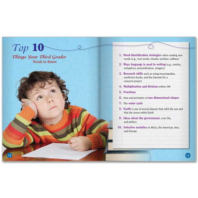 Third Grade Parent Guide For Your Child's Success - 25-Book Set