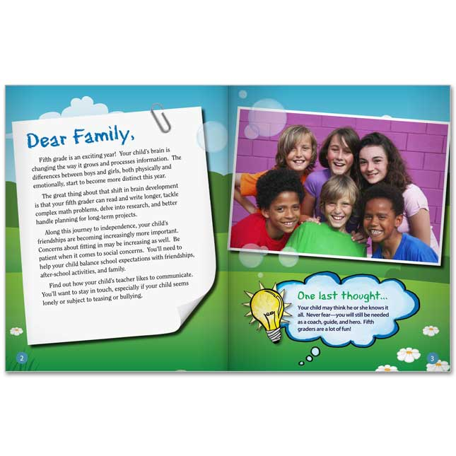 Fifth Grade Parent Guide For Your Child's Success - 25-Book Set