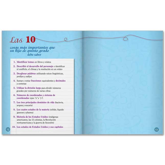 Quinto Grado Guia Del Padre Para El Exito De Su Hijo - 25-Book Set
