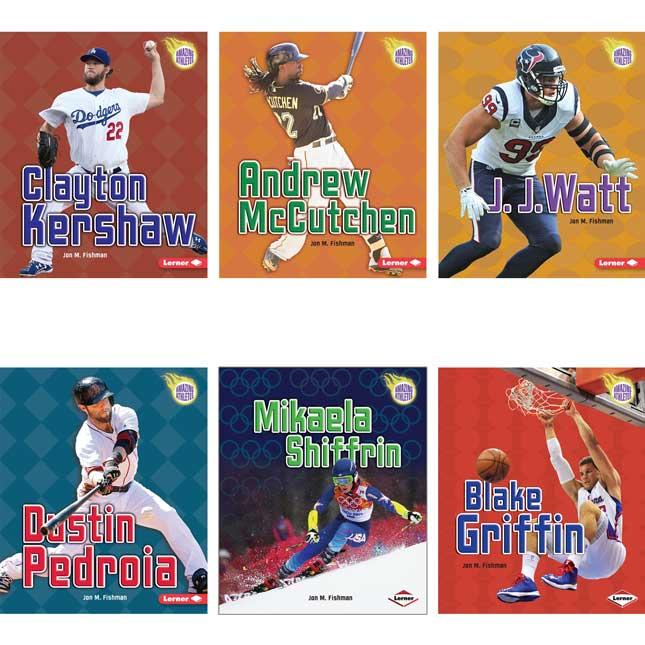 Amazing Athletes 19-Book Set