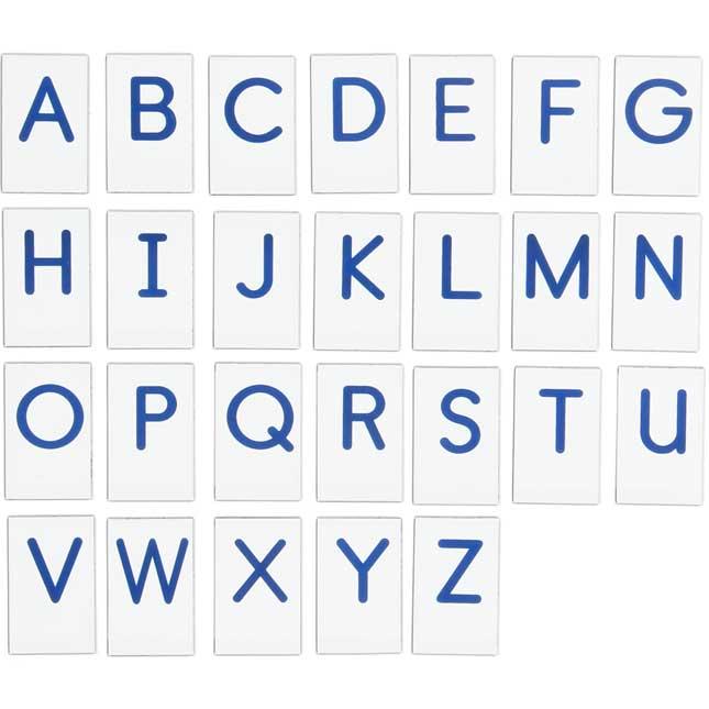 Vinyl Magnetic Letters With Alphabet Storage Case