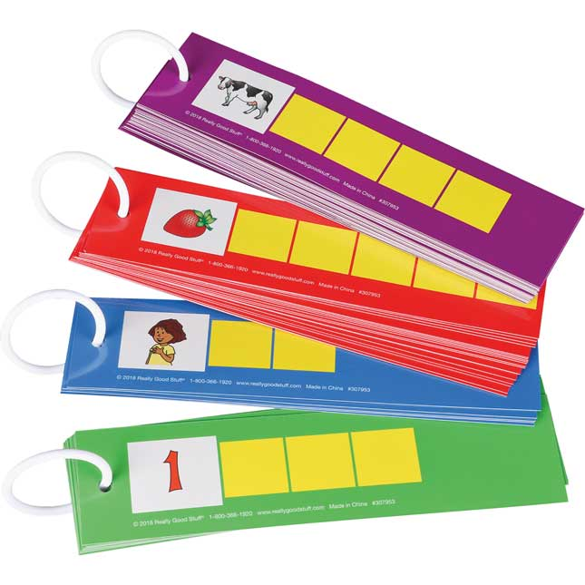EZread™ Spanish Tap-A-Sound-Box Cards