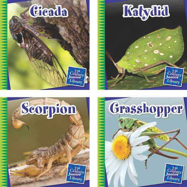 Creepy Crawly Critters 8-Book Set
