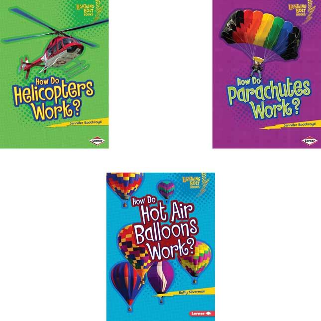Lightning Bolt Books: How Flight Works 6-Book Set