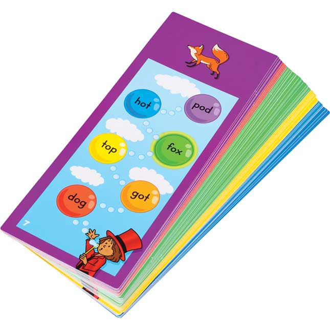 Tap-A-Word™ Phonics Cards: Vowels