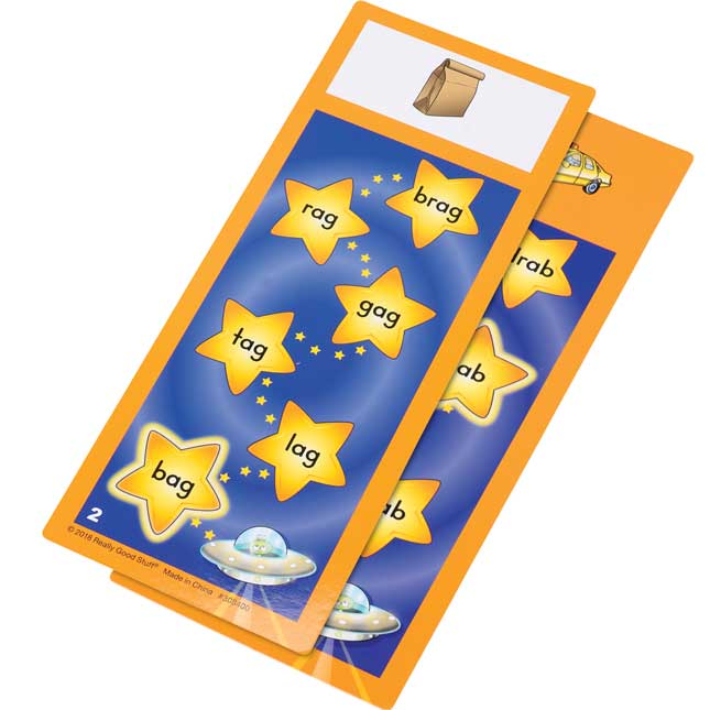Tap-A-Word™ Phonics Cards Kit