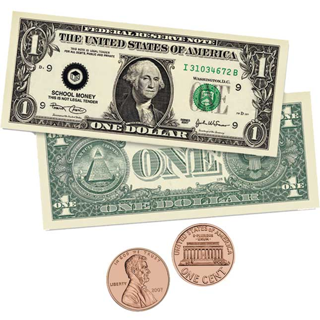 Big Double Sided Magnetic Money
