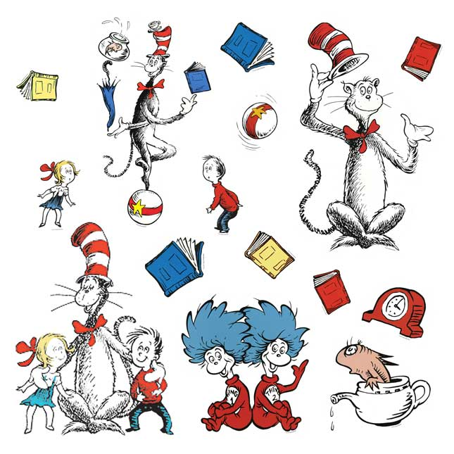 Dr. Seuss Bulletin Board Display Characters