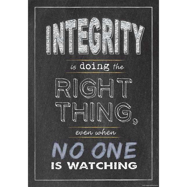 Inspire U Poster - Integrity