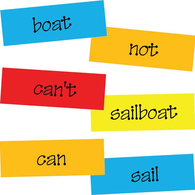 Word Wall Cards - Blank