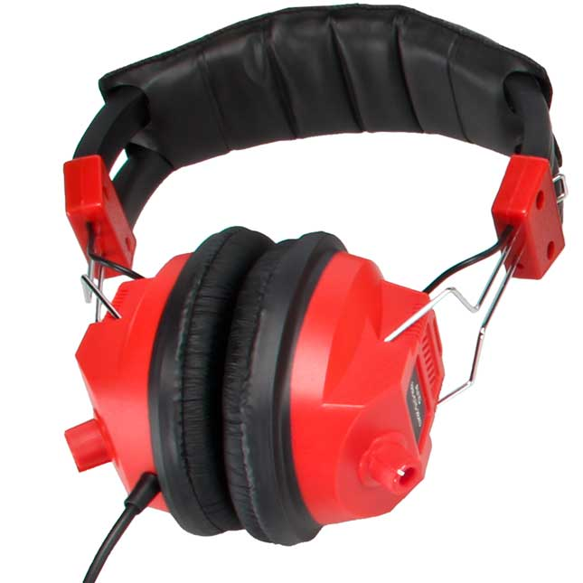 Over-Ear Headphones With Volume Control