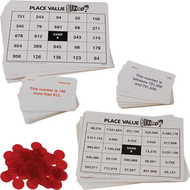 QUIZMO Place Value Game