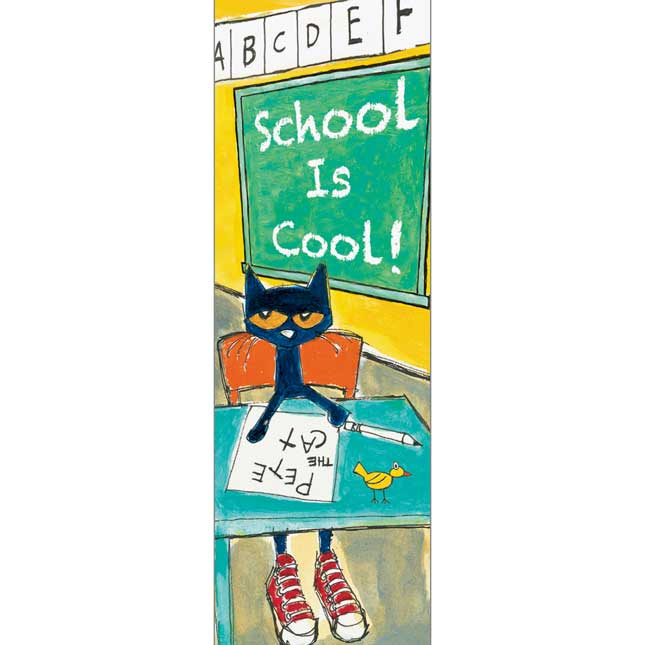Pete The Cat® School Is Cool Bookmarks