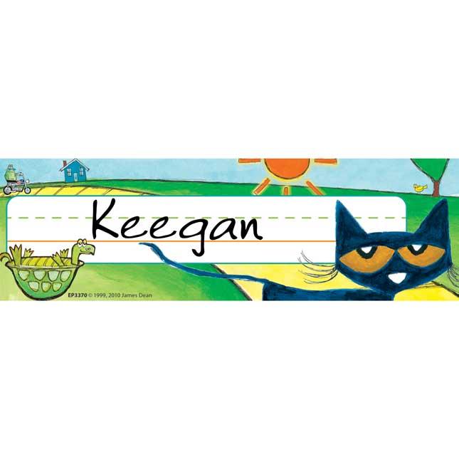 Pete The Cat® Nameplates