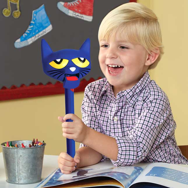 Pete The Cat® Puppet On A Stick
