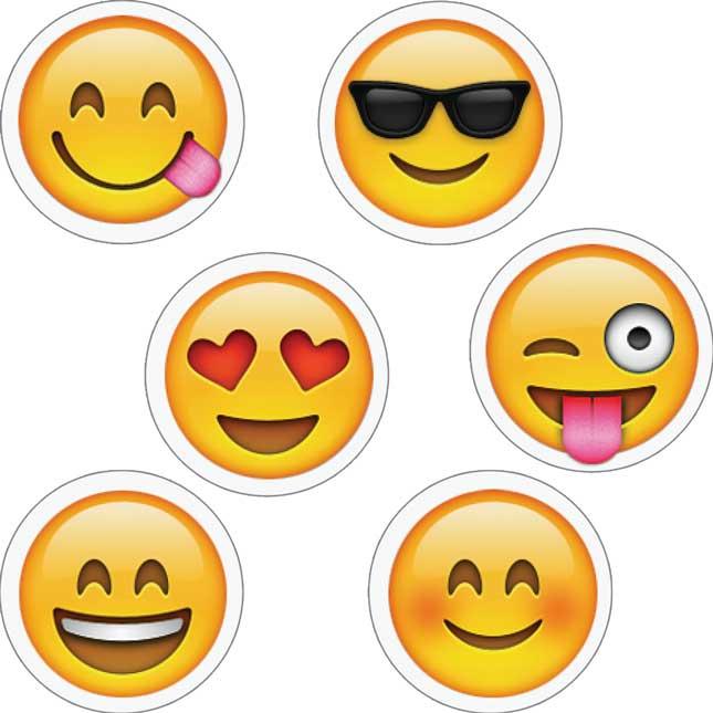 Emoji Decor And Sticker Set