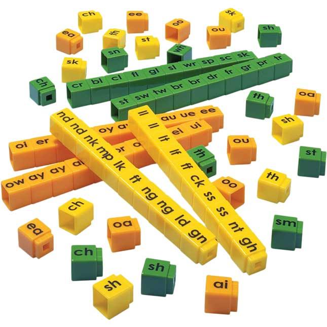 Unifix Letter Cubes - Blends