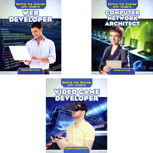 Behind The Scenes With Coders 6-Book Reader Set