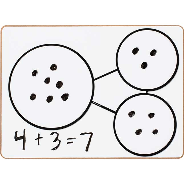 Number Bond Dry Erase Magnet Set