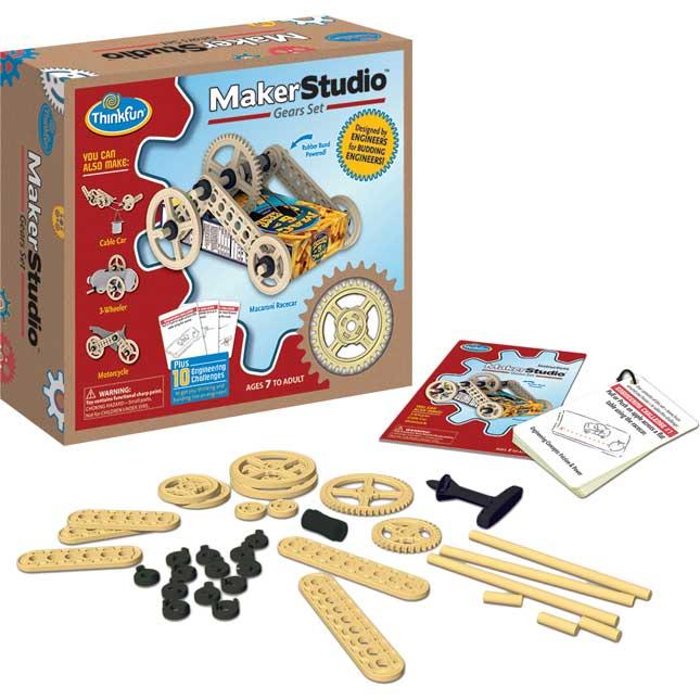 Maker Studio™ Gears Set