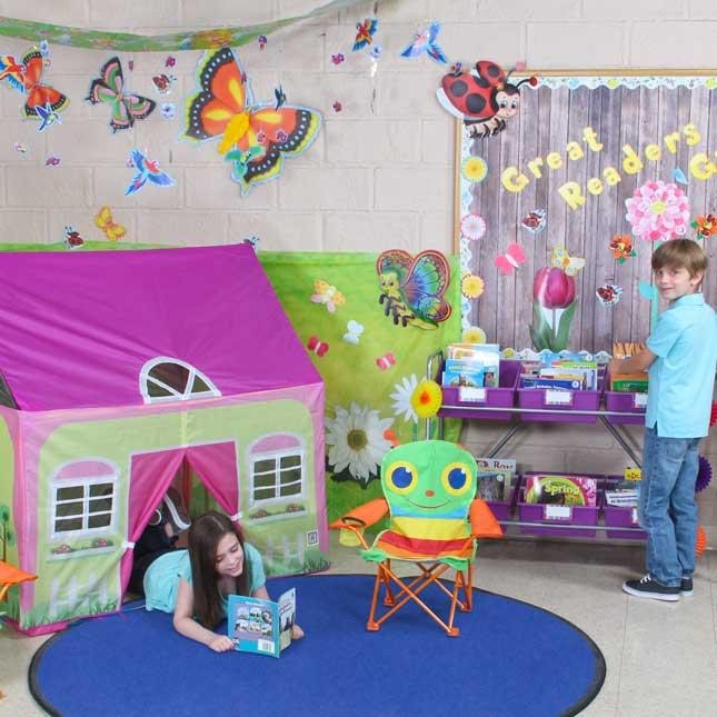 Garden Reading Environment - Wallies® Butterflies Wall Decor