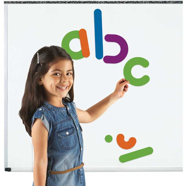 Learning Essentials™ Giant Magnetic Letter Construction
